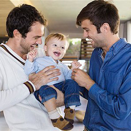 6108-06907308 © Masterfile Royalty-Free Model Release: Yes Property Release: Yes Parents smiling with their son at home