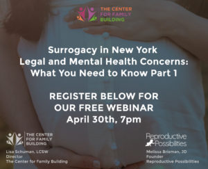 Surrogacy in New York Webinar by Lisa Schuman